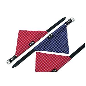 Kolibri Collar with Scarf (27cm x 10mm) Red