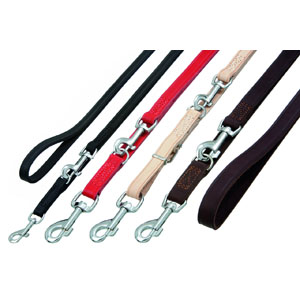 Rondo Training Leash Sewn (200cm x 12mm) - Brown