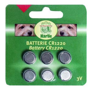 CR1220 Batterien für LED Halsbänder/Geschirre