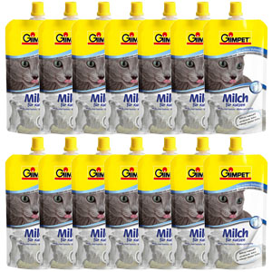 14 x Gimpet - Milk For Cats, 200ml