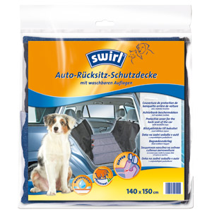 swirl - Back Seat Dog Protective Cover