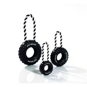 Boomer Vollgummi Reifen mit Handschlaufe - 15cm