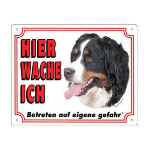 FREE Dog Warning Sign, Bernese Mountain Dog