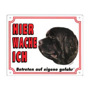 FREE Dog Warning Sign, Newfoundland