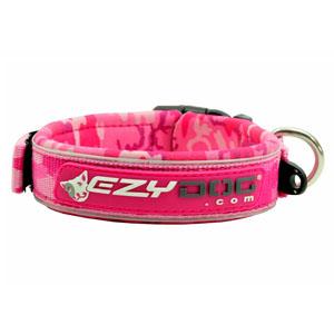 Ezydog - Neopren Hundehalsband Pinkcamo