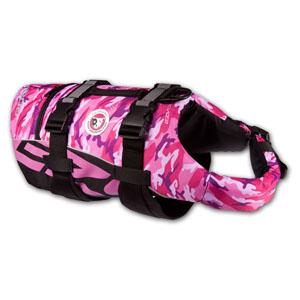 Ezydog - Hunde Schwimmweste Seadog PinkCamo XL