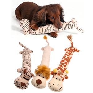 Plüsch Hundespielzeug Safari