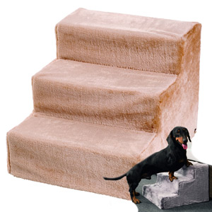 Easy Step Dog Stairs Beige 43 x 41 x 29 cm