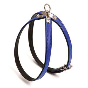 Art Leather Plus Harness Paris, Blue