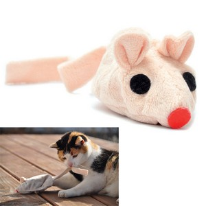 Baldi-Mouse Toy For Cats With Valerian Beige