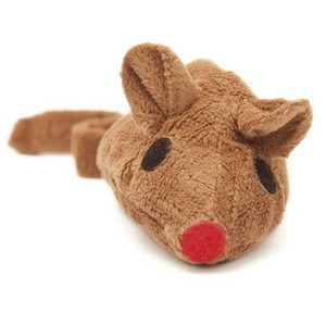 Baldi-Mouse Toy For Cats With Valerian Brown