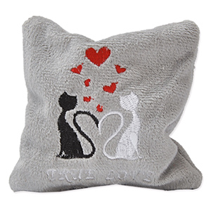 Katzenspielkissen True Love Mini - 10 x 10 cm