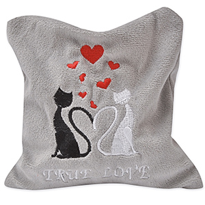 Cat Pillow True Love Midi - 18 x 15 cm