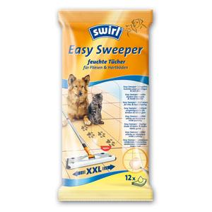 6 x swirl - Easy Sweeper Wet Wipes For Tiles & Hard Flooring