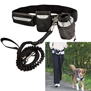 DogActivity Waist Belt With Leash