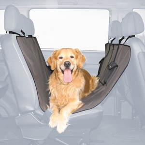 Car Seat Cover - 145 x 140 cm, black-brown