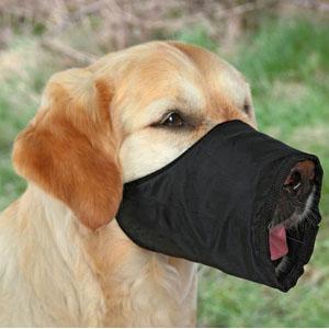 Black Nylon Muzzle