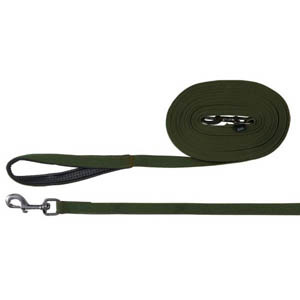 Flat Strap Tracking Lead Green