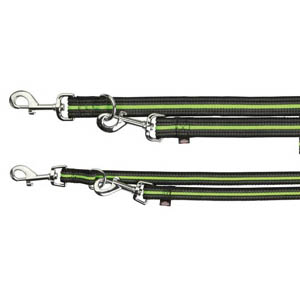 Fusion Adjustable Lead Green (200cm x 25mm)