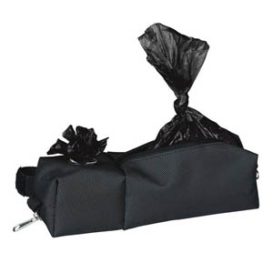 Bag Dispenser With Large Pocket