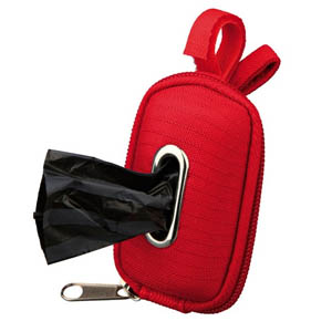 Bag Dispenser Red