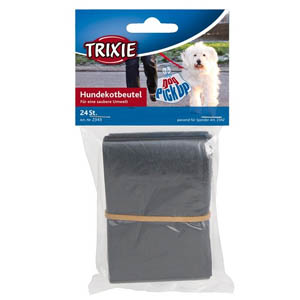 Dog Dirt Bags, 24 Pcs