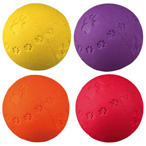 Natural Rubber Toy Ball - 9 cm