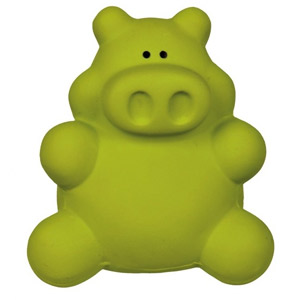 Latex Pig Green