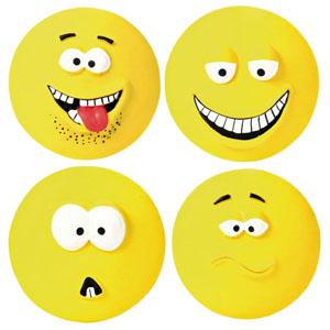 Big Latex Smileys - 4er Set