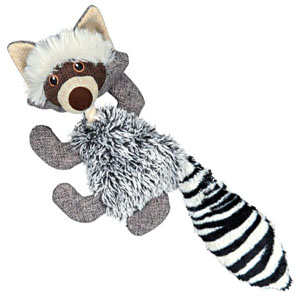 Plush Racoon With Jute And Rope - 21cm