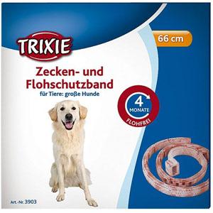 Zecken- und Flohschutzband für Hunde