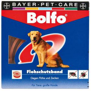Zecken- und Flohschutzband Bolfo von Bayer, 65cm