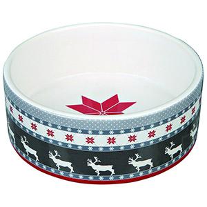 Ceramic Bowl Reindeer