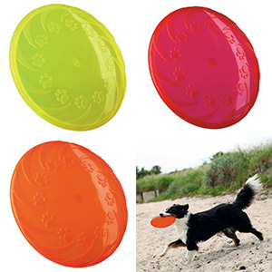 Dog Disc schwimmfähig aus TPR - 22cm