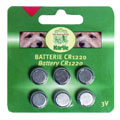 CR1220 Batteries for LED Collars/Harnesses