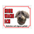 FREE Dog Warning Sign, Dachshund wire-haired