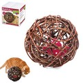 Big Rattan Ball For Cats