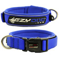 Ezydog - Extra Broad Neoprene Dog Collar Blue