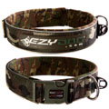 Ezydog - Extra Broad Neoprene Dog Collar Greencamo
