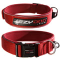 Ezydog - Extra Broad Neoprene Dog Collar Red