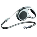 Flexi Dog Leash Vario System, M, Cord, 5m, Anthracite