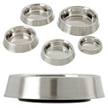 Anti-Ant Dog Bowl Stainless Steel
