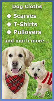 Cloths for your Dog!