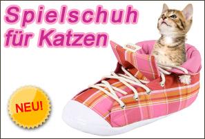 Spielschuh für Katzen