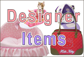 Designer Items for Dogs and Cats